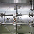 Closed Door To A Bank Vault by Adam Crowley