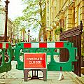 Closed Footpath by Tom Gowanlock
