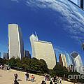 Cloud Gate Millenium Park Chicago by Christine Till