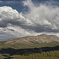Cloud Over Breckenridge Colorado by Randall Nyhof