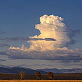Cloud Over San Luis Valley by Boyd Norton