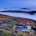 Cloud Waterfalls Bannerdale Crags by Stewart Smith