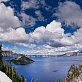 Clouds Above Crater Lake by Greg Nyquist