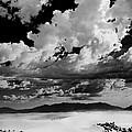 Clouds Above White Sands by Ralf Kaiser