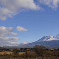 Clouds And Mt Shasta In Autumn by Mick Anderson