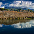 Clouds On The Klamath River by Greg Nyquist