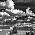 Clouds Over Knox 13804b by Guy Whiteley