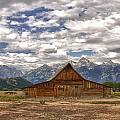 Clouds Over Mormon Row by Carolyn Fox