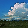 Clouds Over The North Forty by Eric Tressler