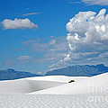 Clouds Over The White Sands by Vivian Christopher