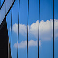 Clouds Reflected In A Glass Facade by Ingo Jezierski