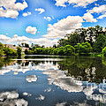 Clouds Reflection On Water by Paul Ward