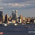 Clouds Rolling In On New York City by Living Color Photography Lorraine Lynch