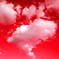 Clouds With Red Sky by Steve Fields