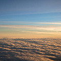 Cloudscape From A 757 by David Patterson
