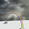 Cloudy Sky And Rainbow by Yagi Studio