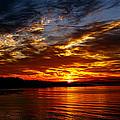 Clover Point Sunrise by Dorothy Hilde