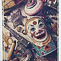 Clown Bank by Garry Gay