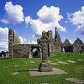 Co Offaly, Clonmacnoise by The Irish Image Collection