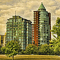 Coal Harbour Condos by Diana Cox
