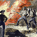 Coal Mine Fire, 19th Century by Sheila Terry