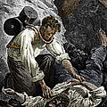 Coal Mine Rescue, 19th Century by Sheila Terry