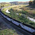 Coal Train - Johnstown  by Brian Wallace
