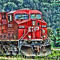 Coal Train Hdr by Randy Harris