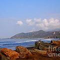 Coast Line California by Susanne Van Hulst