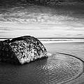 Coastal Scene Bw by Svetlana Sewell