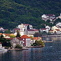 Coastal Town Of Montenegro by Carla Parris