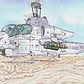 Cobra Attack Helicopter by Calvert Koerber