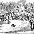 Cock Fighting, 1866 by Granger