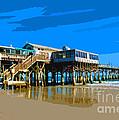 Cocoa Beach Pier  by Allan  Hughes