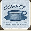 Coffee 1 Scrapbook by Angelina Vick