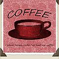 Coffee 2 Scrapbook by Angelina Vick