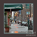 Coffee And Rain In Seattle by Nancy Greenland