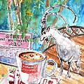 Coffee Break In Vrisses In Crete by Miki De Goodaboom