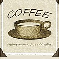Coffee Cup 3 Scrapbook by Angelina Vick