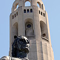 Coit Tower Statue Columbus by Henrik Lehnerer
