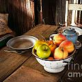 Colander Of Fruit by Therese Alcorn
