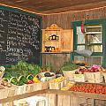 Colby Farm Stand Produce by Kristine Patti