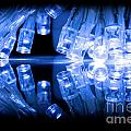 Cold Blue Led Lights Closeup by Simon Bratt Photography LRPS