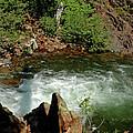 Cold Creek Waters Glen Alpine Creek by LeeAnn McLaneGoetz McLaneGoetzStudioLLCcom