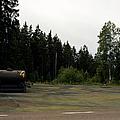 Cold War Hiway Fuel Dump by Jan W Faul