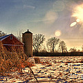 Cold Winter Barn by Joel Witmeyer