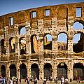 Coliseum Facade by Jon Berghoff