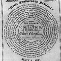 Collation Ticket, 1824 by Granger