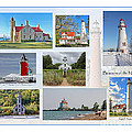 Collection Of Lighthouses by Jack Schultz