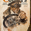 Colliers Cover Jan 5 1918 by Roy Foos